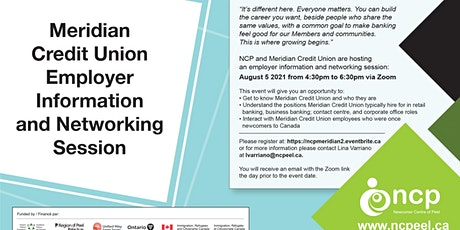 Meridian Credit Union Employer Networking and Information Session tickets