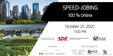 Fall Recruitment Event- Online Speed-Jobing 2021 - Recruiter Registration tickets