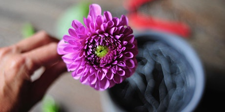 Sustainable Floral Design with Local Dahlias tickets