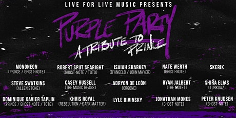 POSTPONED - NEW DATE TBA L4LM presents Purple Party: A Tribute to Prince tickets
