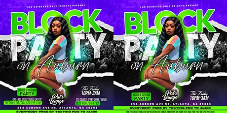 Copy of ATL Block Party w/Live Dancers! Indoor & Outdoor Party! tickets