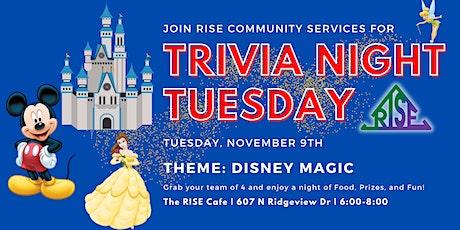 Trivia Tuesday: Disney Magic (November) tickets