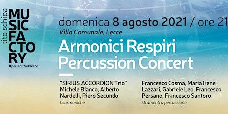 Armonici Respiri | Percussion Concert biglietti