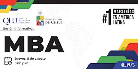 Sesión Informativa: Maestría en Administración de Empresas (MBA) entradas
