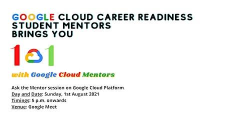 101 With Google Cloud Mentors boletos