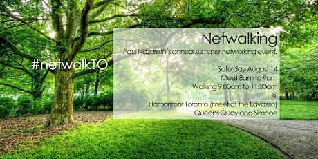 Summer #netwalkTO hosted by Paul Nazareth tickets