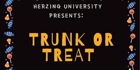 Herzing University- TRUNK or TREAT tickets