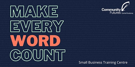 Make Every Word Count tickets
