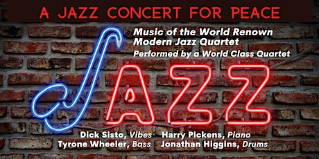 A Jazz Concert for Peace tickets