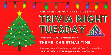 Trivia Tuesday: Christmas Time (December) tickets