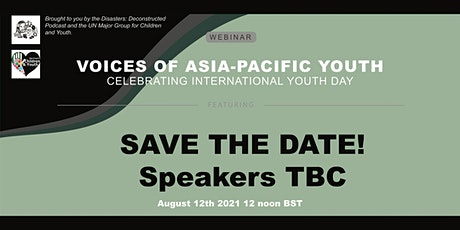 Voices of Asia-Pacific Youth tickets