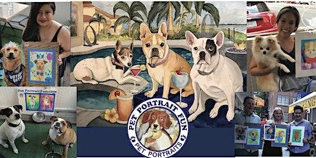Sip and Paint a Pet Portrait Fun- Barking Dog New York tickets