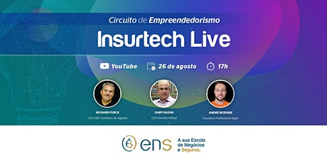 Circuito de Empreendedorismo Insurtech Live 1 ingressos