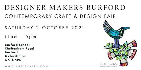 DESIGNER MAKERS FAIR BURFORD tickets