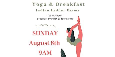 Yoga & Breakfast @ Indian Ladder Farms tickets