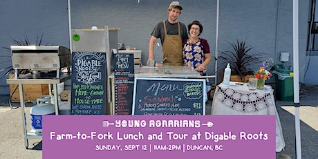 Farm-to-Fork Lunch and Tour at Digable Roots tickets