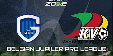 LIVE@!. Genk - Oostende LIVE OP TV 2021 tickets