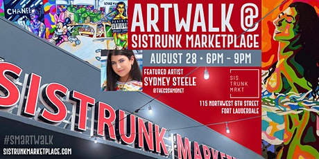 ARTWALK at Sistrunk Marketplace #SMArtWalk: Showcasing @TheCashMonet tickets