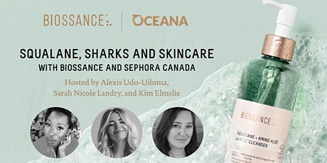 Squalane, Sharks and Skincare with Biossance and @thebirdspapaya tickets