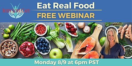 Eat Real Food Challenge Tickets