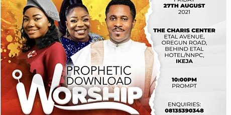 Prophetic Download (Worship Edition) tickets