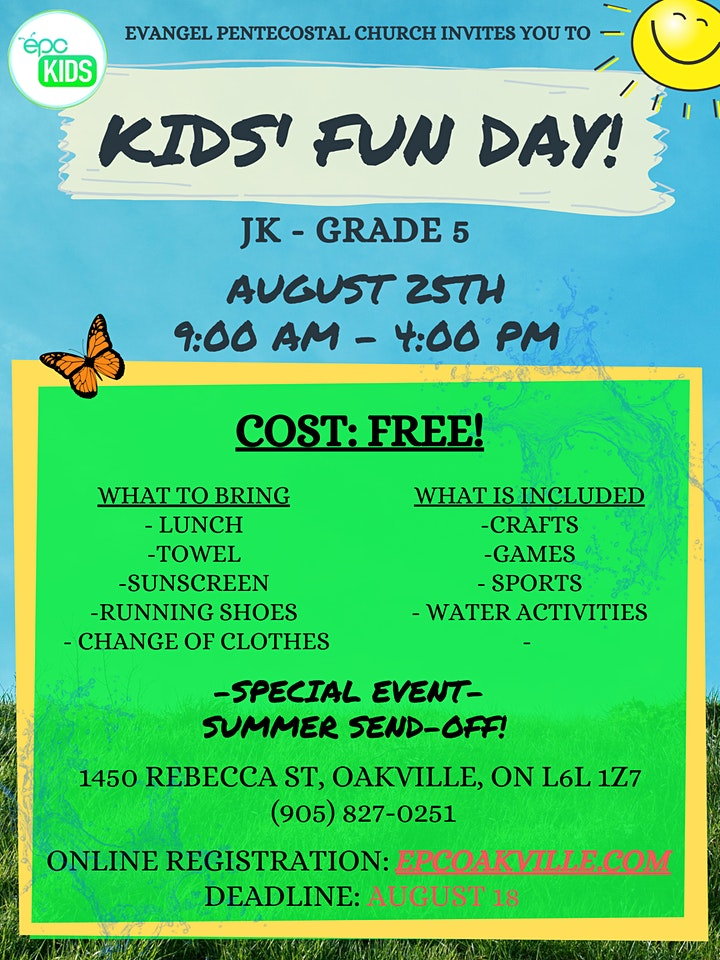 Kid's Fun Day image
