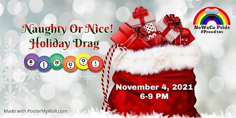 Naughty or Nice Holiday Drag Bingo tickets