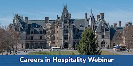 Career Quest Webinar: Careers In Hospitality tickets