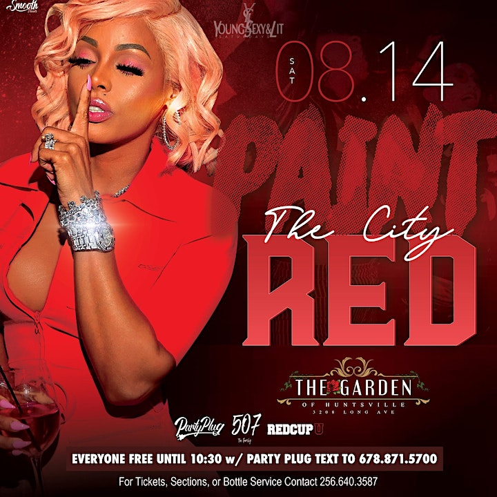 Paint the City Red  x #AAMU Welcome Week Jump Off image