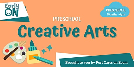 Preschool Creative Arts - Rubber Band Snap Painting tickets