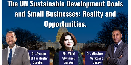UN Sustainable Development Goals and Small Businesses tickets