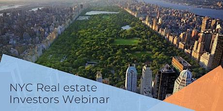 NYC Real Estate Investors Introductory Briefing (Virtual Webinar) tickets