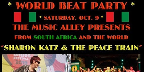 World Beat Party: SHARON KATZ & THE PEACE TRAIN tickets