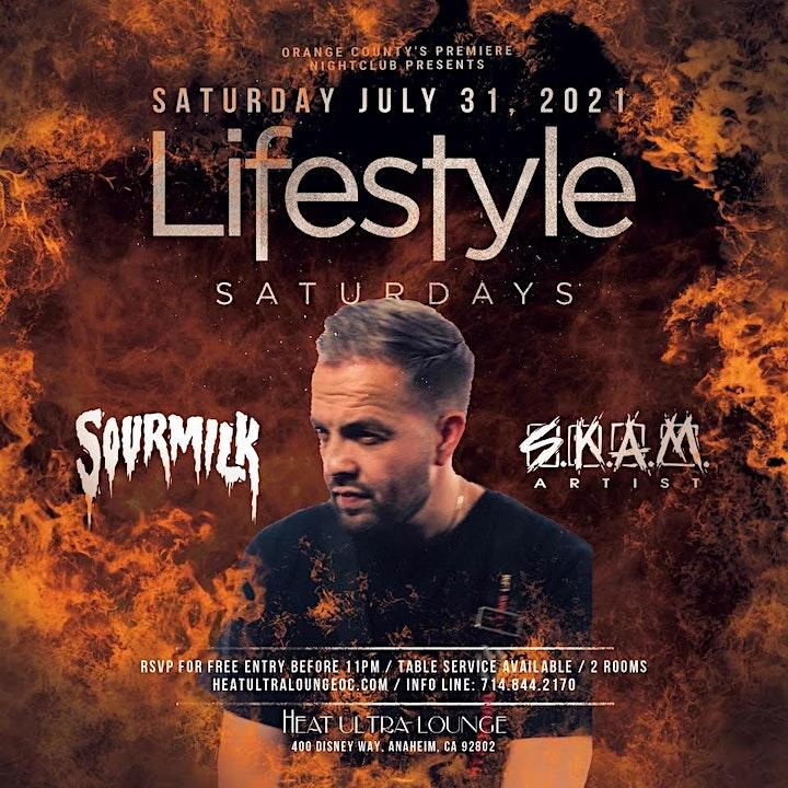 Lifestyle Saturdays With DJ Sourmilk image
