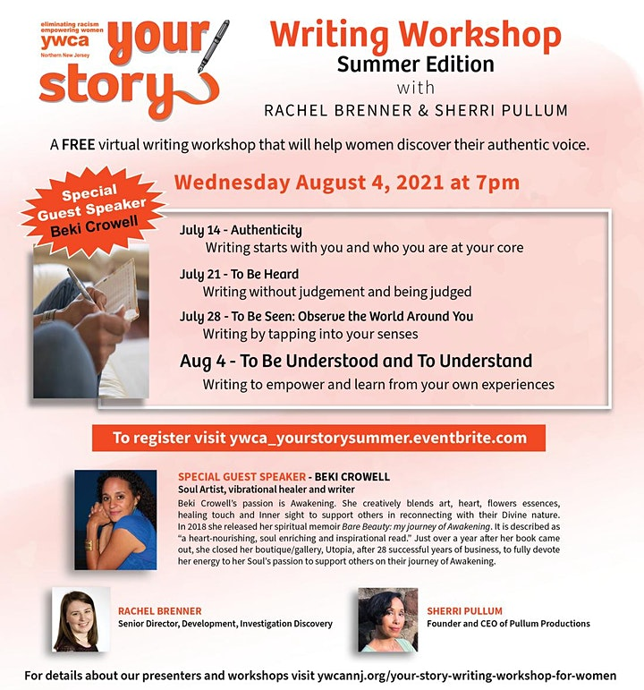 Your Story Writing Workshop Summer Edition image