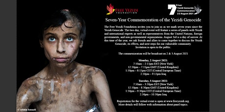 FYF Seven-Year Commemoration of the Yezidi Genocide tickets