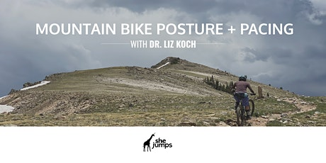 Mountain Bike Posture + Pacing Techniques to Crush Climbs tickets