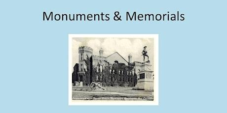 Monuments & Memorials Walk tickets