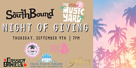 Night of Giving at The Music Yard! tickets