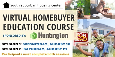 August Virtual Homebuyer Education Course tickets