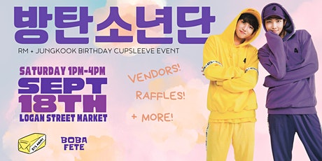 RM + Jungkook Birthday Cupsleeve Event tickets