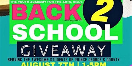 Back2School Giveaway tickets