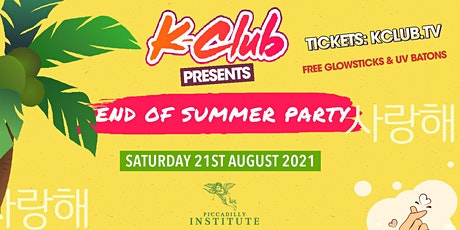 K-Club presents... The K-POP ' End of Summer Party' | London tickets