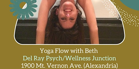 Yoga Flow at Del Ray Psych in Alexandria (Vaccine Required) tickets