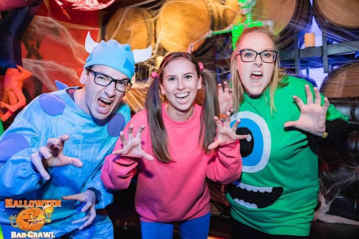 The 4th Annual Halloween Bar Crawl - Charleston image