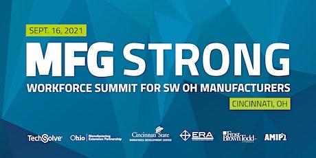 MFG Strong Workforce Summit tickets
