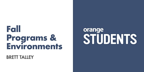 Let's Talk About Your Fall Programs & Environments tickets