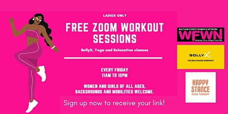 Free Class: BollyX, Yoga and Relaxation tickets