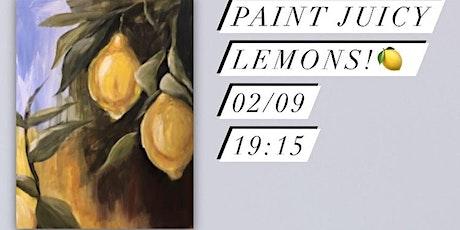 Paint Juicy Lemons! Leeds, UK tickets