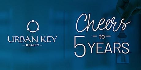 Urban Key Realty 5 Year Anniversary Celebration tickets